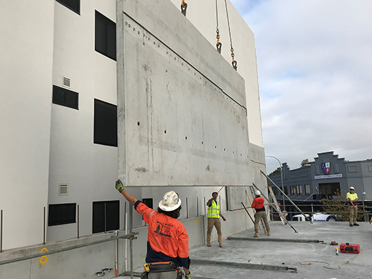 diamond precast installation